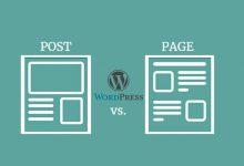 صورة ما هو الفرق بين المقالات والصفحات في الووردبريس ( دليل المبتدئين )